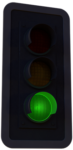 Risk Low Traffic Light