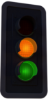 Low to Med Risk Traffic Light