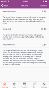 Funding Circle App Screenshot 1 - FundingCircle Review