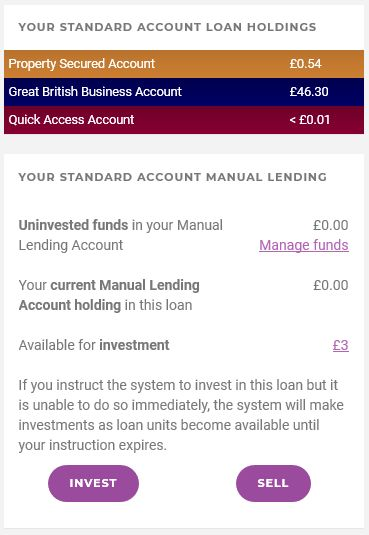Assetz Capital Loan Holdings Screenshot