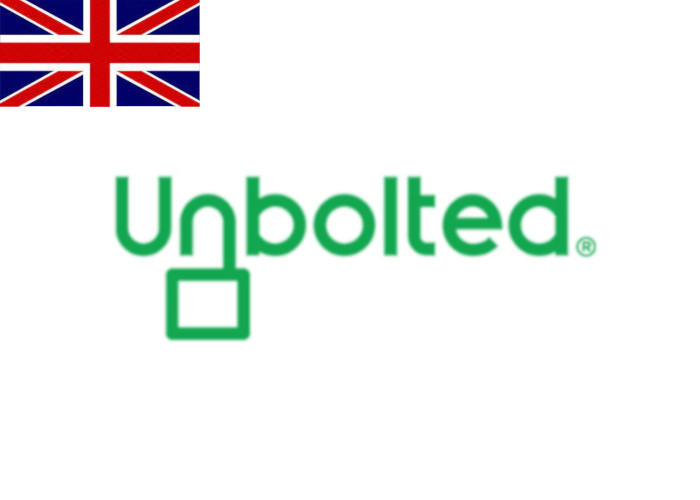 Unbolted Review Logo with Flag