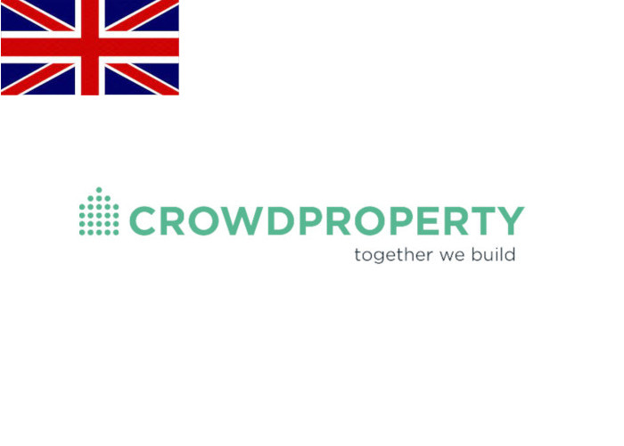 CrowdProperty Review Logo with Flag