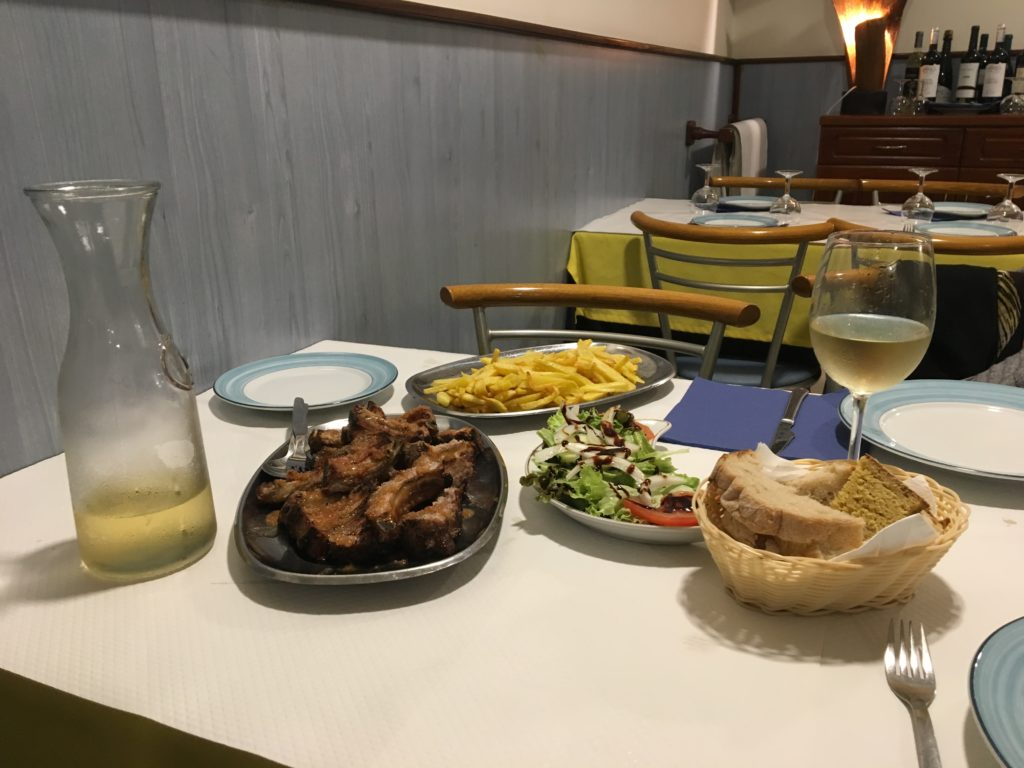 Ribs Meal - Retire in Portugal