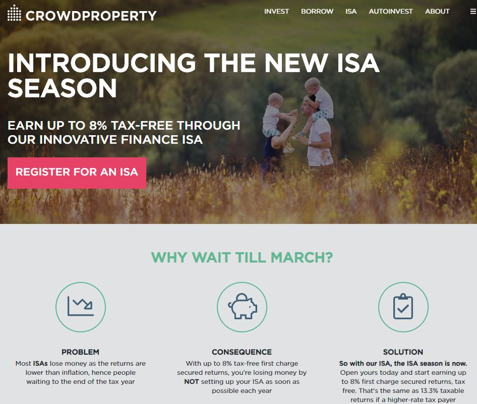 CrowdProperty ISA Screenshot - CrowdProperty Review