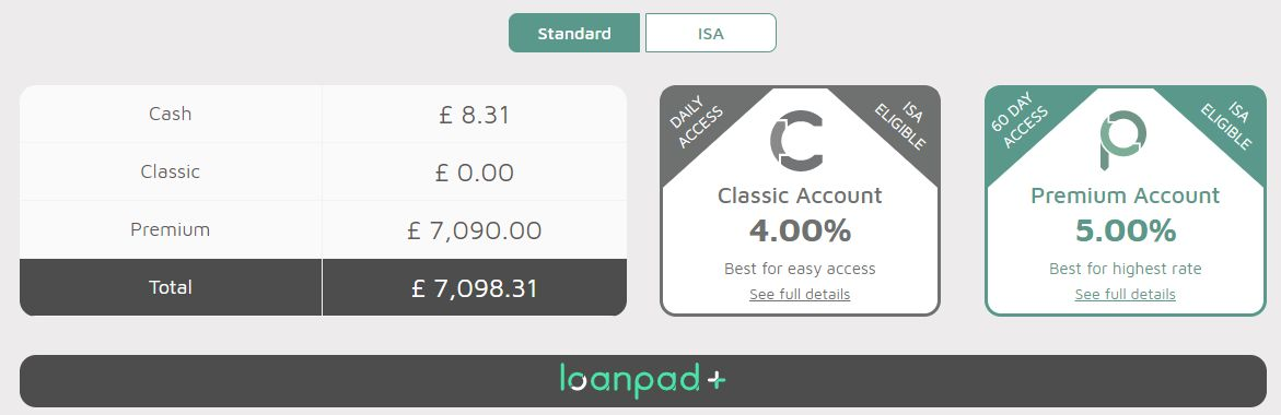 Loanpad Account Screenshot 1 - October 2019 Update