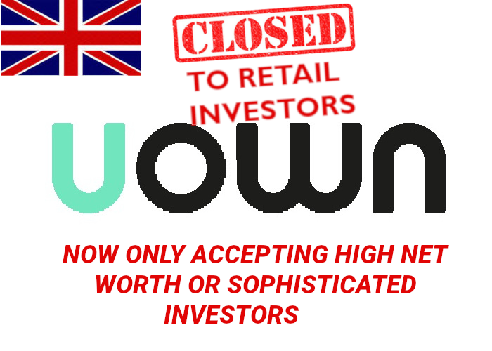 UOWN Review Logo with Flag
