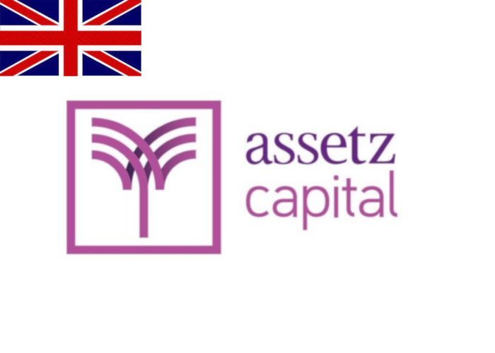 Assetz Capital Review Logo with Flag