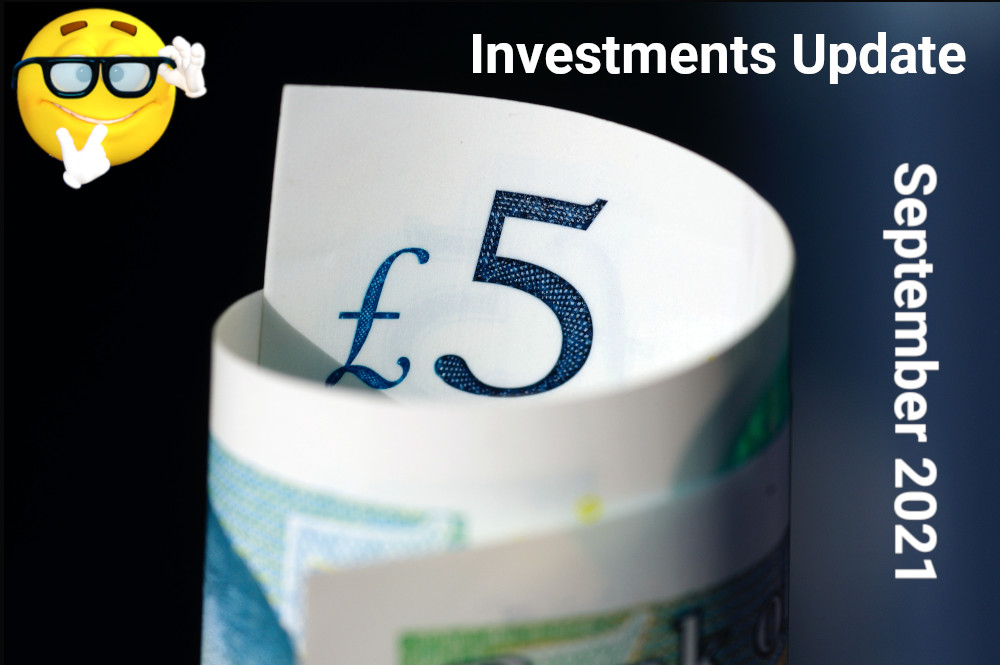 Investments Update September 2021 Featured Image